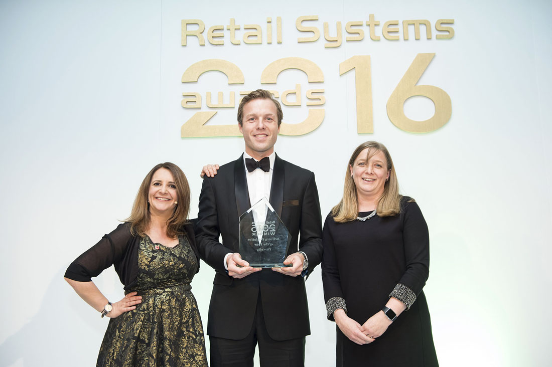 Parcelly Delivery Initiative of the Year. CEO Sebastian Steinhauser