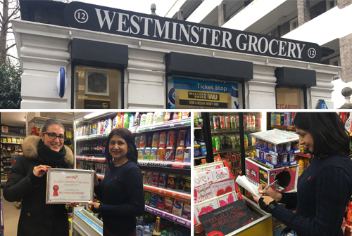 Westminster Grocery Pimlico Parcelly pickup location