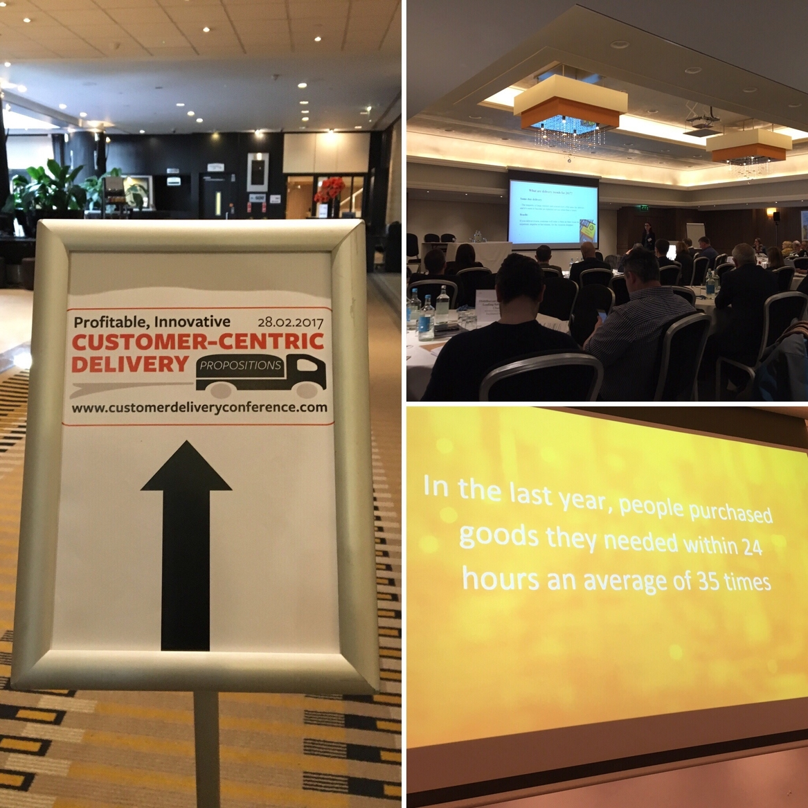 Parcelly attends Customer Centric Delivery Conference 2017 London