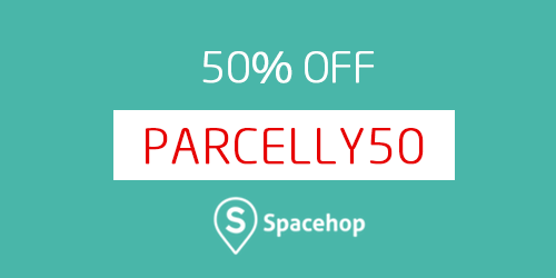 SpaceHop Parcelly voucher