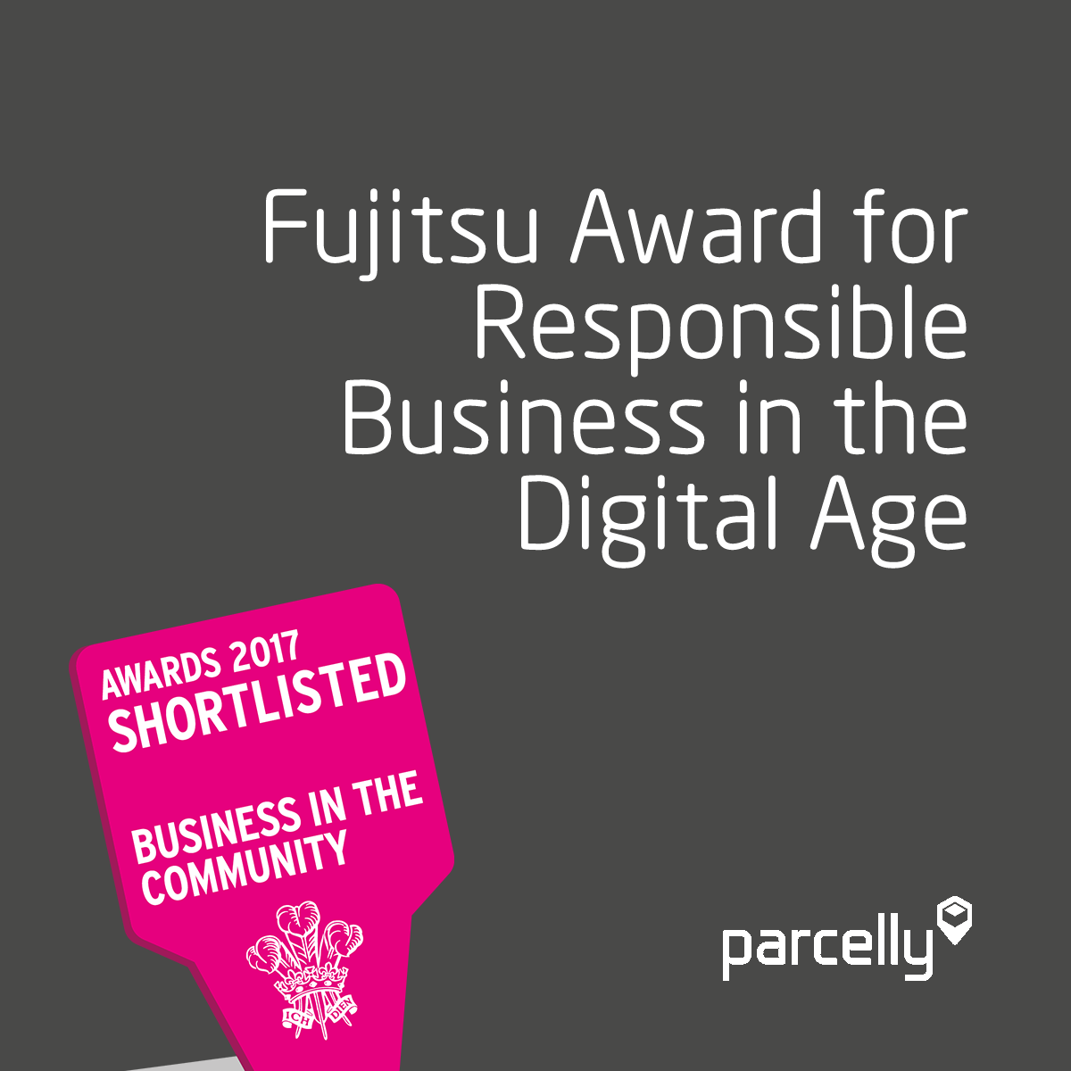 Parcelly Shortlisted BITC Awards 2017 The Prince's Trust Fujitsu