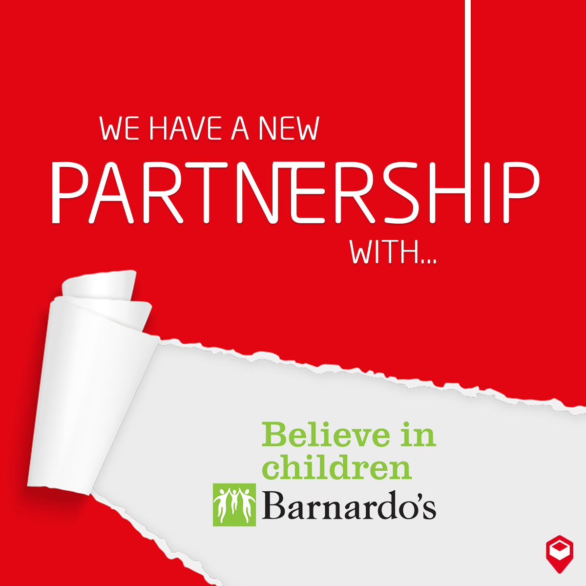 Parcelly partners with Barnardos Charity UK