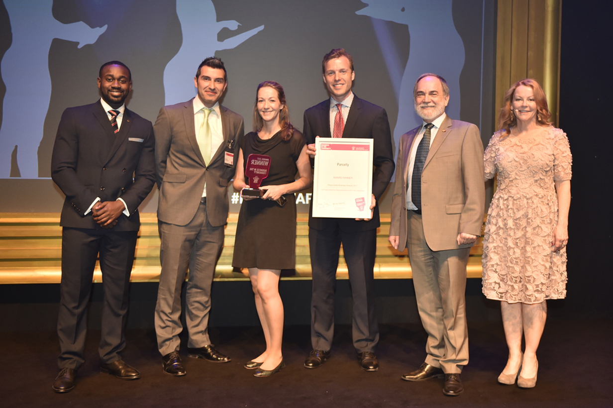 Parcelly wins BITC Award 2017