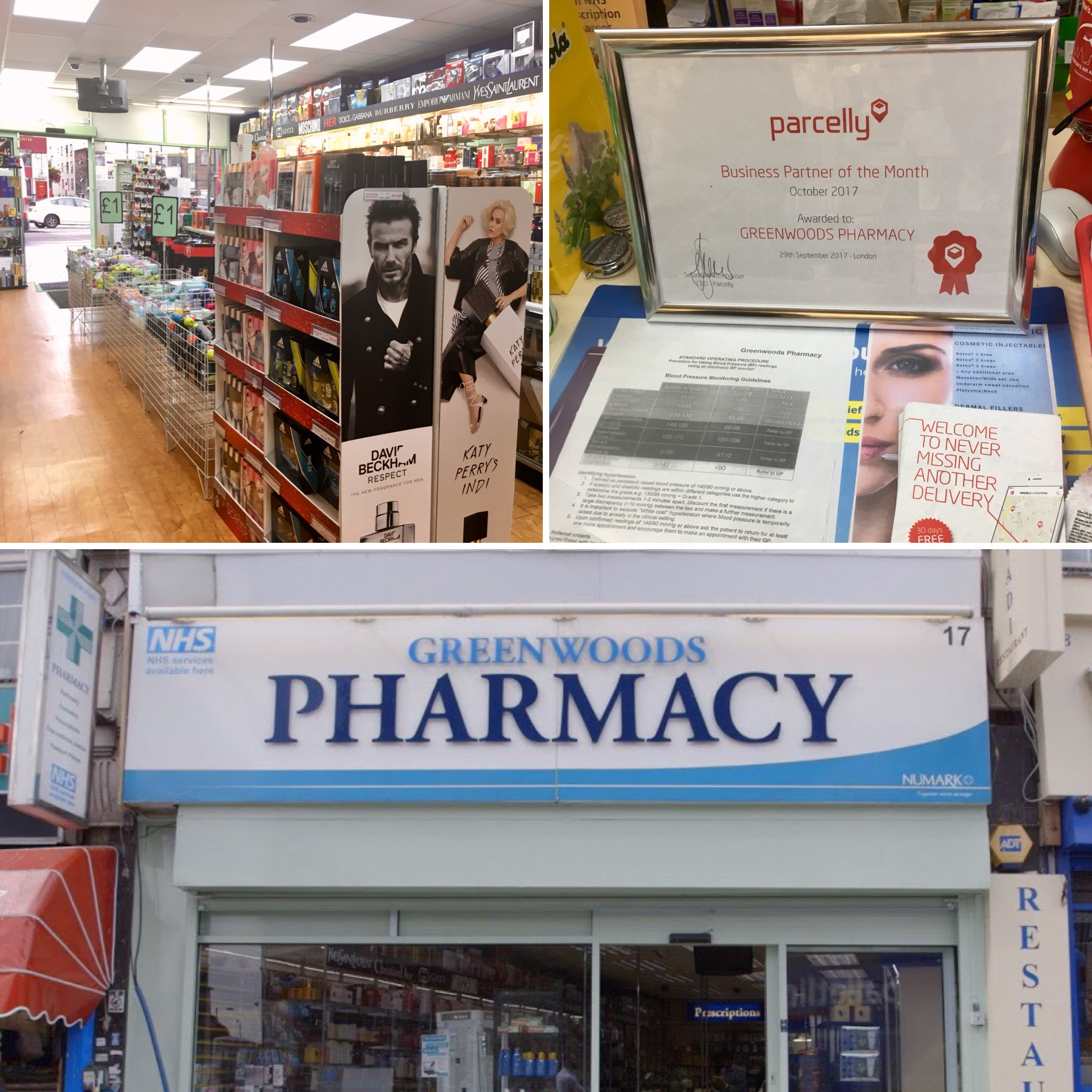 10 October LocationSpotlight Greenwoods Pharmacy Collage