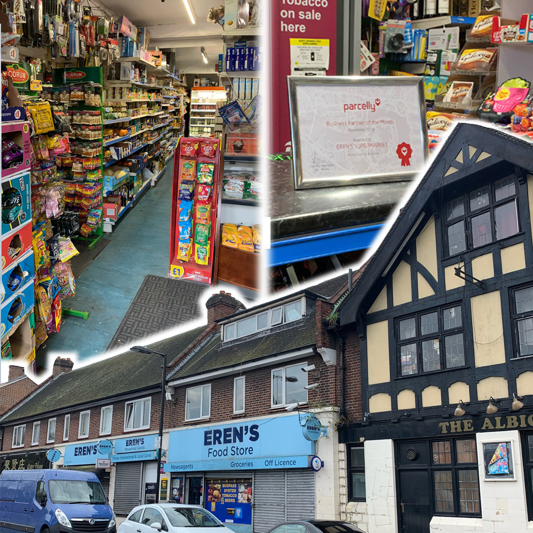 Parcelly Location of the month Erens Supermarket Collage