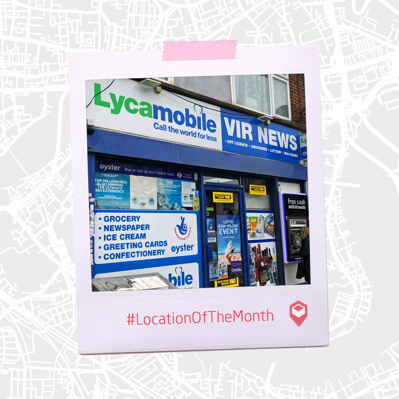 Location of the Month Shop front design