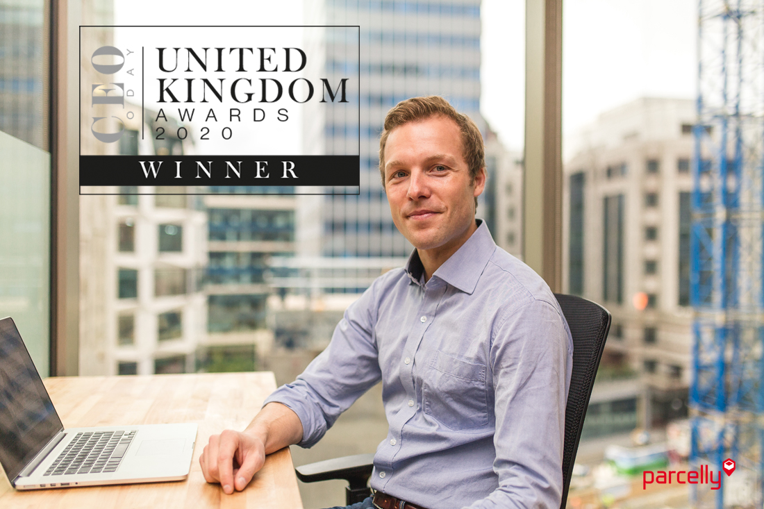 Parcelly CEO Today United Kingdom Award 2020 Sebastian Steinhauser Profile