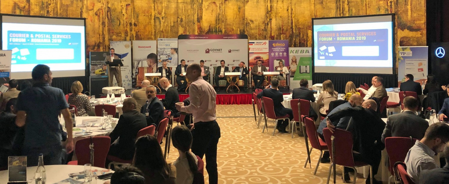 HIGHLIGHTS FROM THE COURIER & POSTAL SERVICES CONFERENCE IN ROMANIA